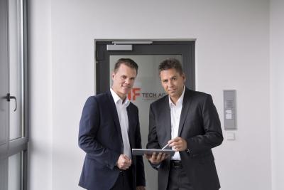 Martin Holzner und Stefan Mooser von der IF-Tech AG